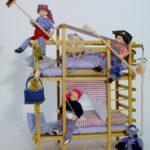 Kinder - Puppenhauspuppen aus Porzellan