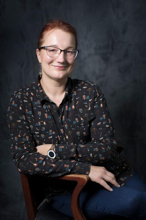Künstlerin Daniela Kiefhaber