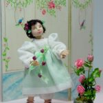 Child – sculpted in porcelain for your dollhouse