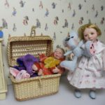 Children – sculpted in porcelain for your dollhouse